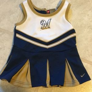 Baby/toddler girl Milwaukee brewers dress